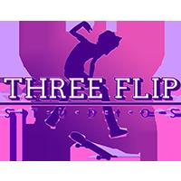 Three Flip Studios Logo Vaper